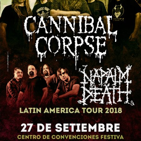 poster cannibal napalm 2018